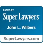 Rated By Super Lawyers John L. Wilbers Superlawyers.com